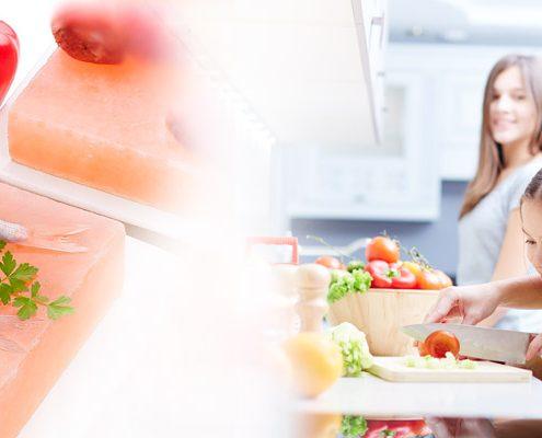 cucinare in modo sano e naturale col sale rosa himalayano