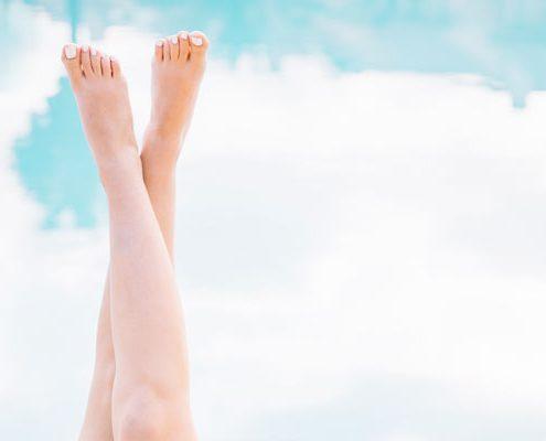 piedi gonfi e gambe pesanti
