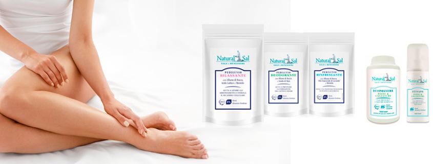 linea piedi bio by naturalsal contro cattivi odori e batteri